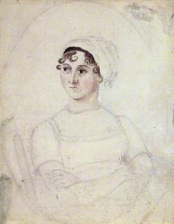 NPG 3630; Jane Austen by Cassandra Austen
