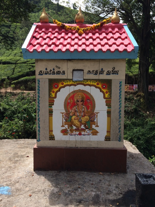 Entrance to Temple in Munnar