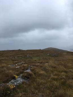Stormy ridge top